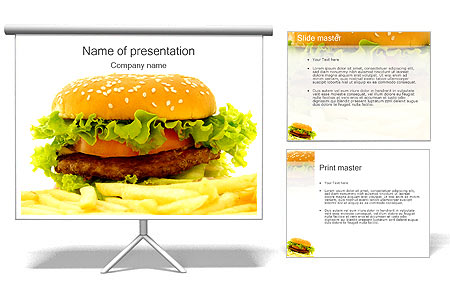 burger powerpoint
